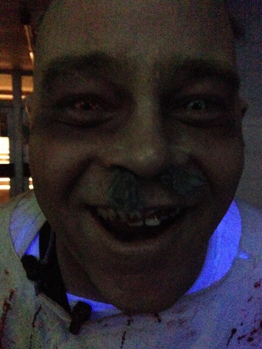 Hope you're not afraid of smiling zombies!