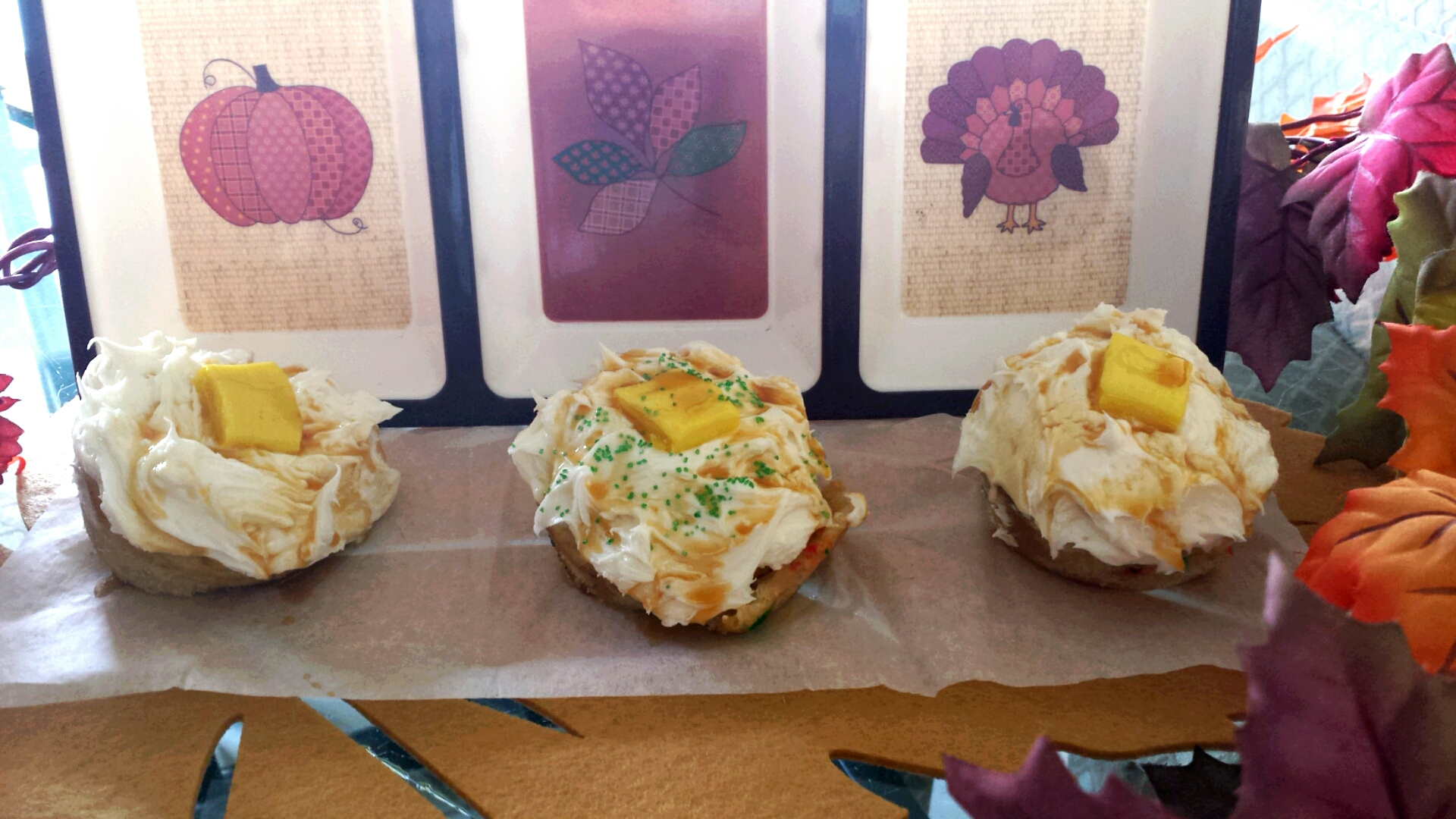 Mashed Potato Cupcakes