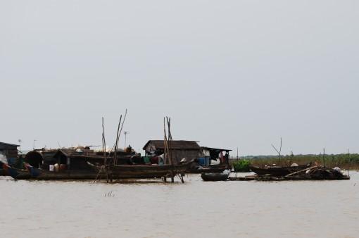 Kompong Phluk floating village, Siem Reap, Cambodia.