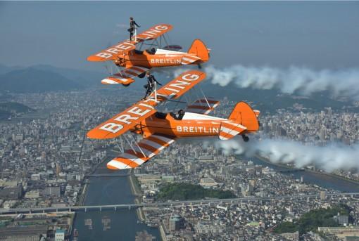 The team in Japan. Photo by Katsuhiko Tokunaga.