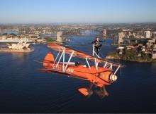 Wing walkers in Australia