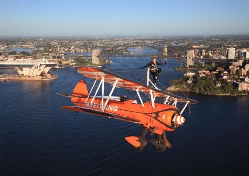 Tanner flying in Australia. Photo by Michael Jorgenson.