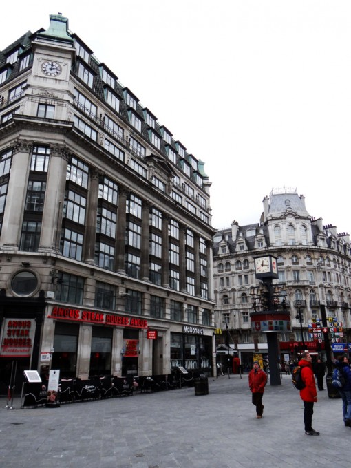Leicester Square in London.