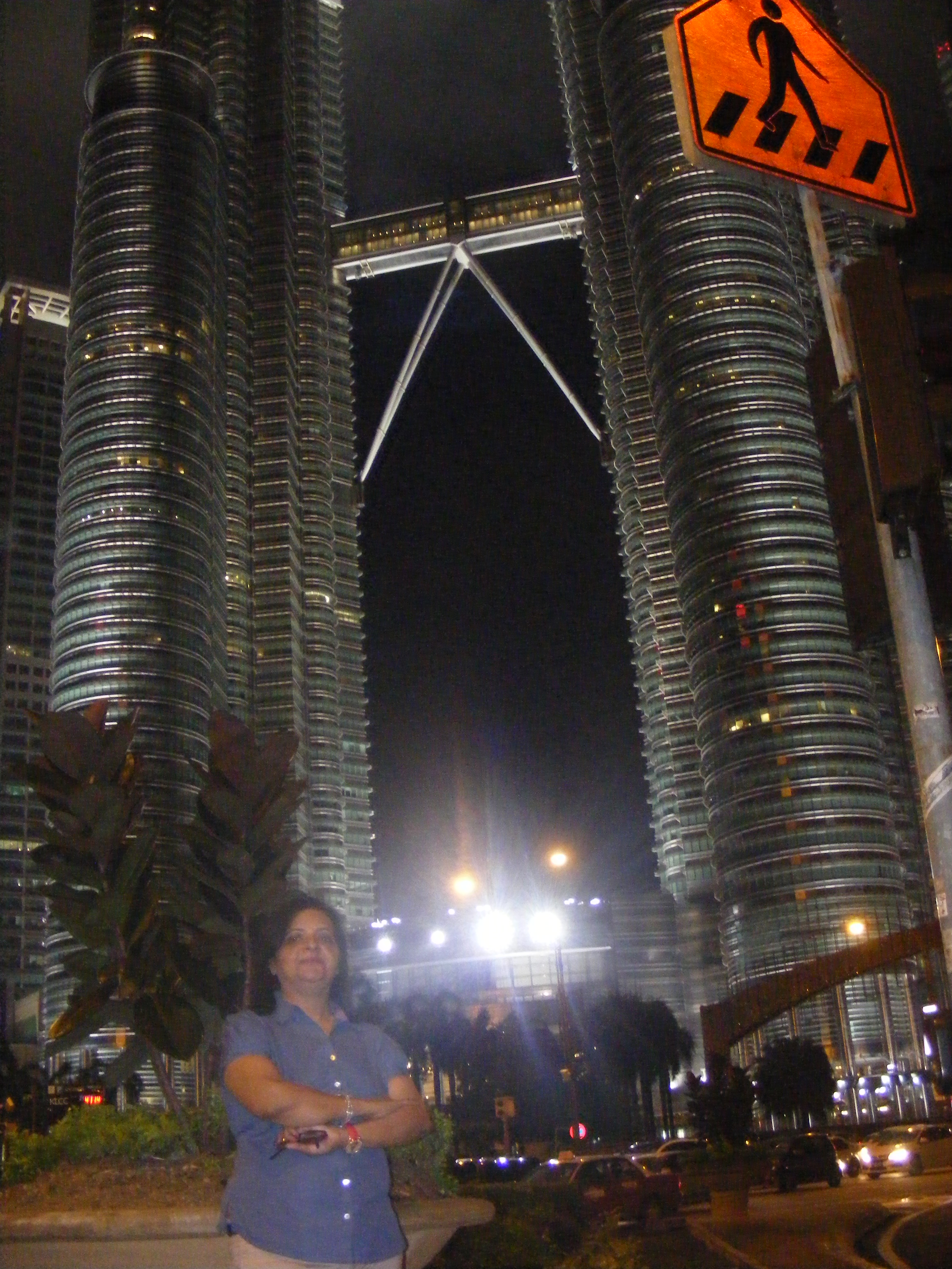 Petronas Tower at 12 in the Night in KL