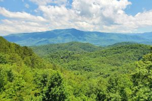 View of the Great Smoky Mountains