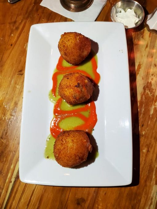 Jalepeno Poppers at The Olde Pink House